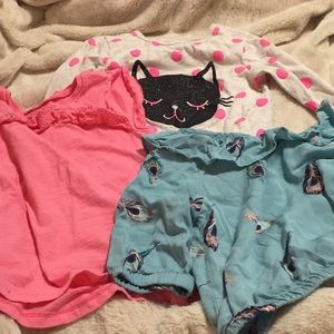 3tops 4T by Carters and Crazy 8